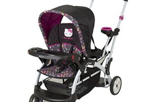 baby trend hello kitty sit n stand stroller