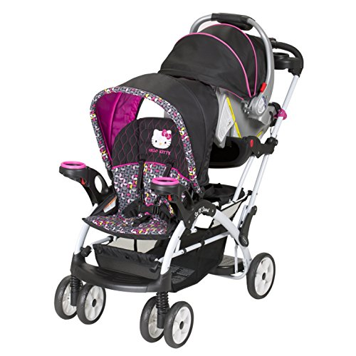 what more can you ask for u2013 a stroller with hello kitty design combined with thatu0027s what you get with baby trend hello kitty sit n stand