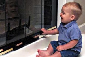 babyproof fireplace