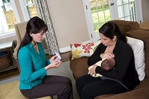 itchiness when breastfeeding